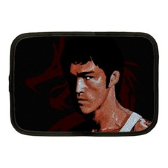 Bruce Lee Netbook Case (medium)  by Valentinaart