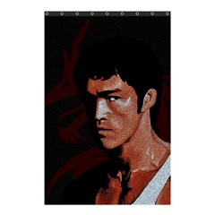 Bruce Lee Shower Curtain 48  X 72  (small)  by Valentinaart
