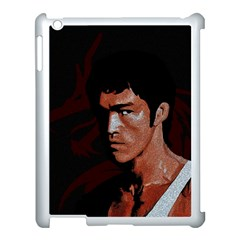 Bruce Lee Apple Ipad 3/4 Case (white) by Valentinaart