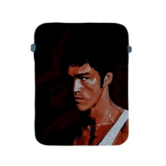 Bruce Lee Apple Ipad 2/3/4 Protective Soft Cases by Valentinaart