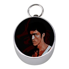 Bruce Lee Mini Silver Compasses by Valentinaart