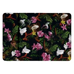 Tropical Pattern Samsung Galaxy Tab 8 9  P7300 Flip Case by Valentinaart
