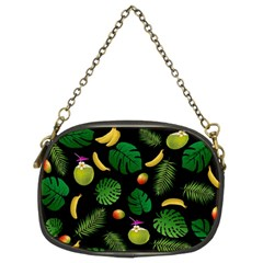 Tropical Pattern Chain Purses (two Sides)  by Valentinaart
