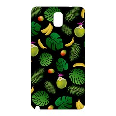 Tropical Pattern Samsung Galaxy Note 3 N9005 Hardshell Back Case by Valentinaart