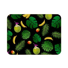 Tropical Pattern Double Sided Flano Blanket (mini)  by Valentinaart