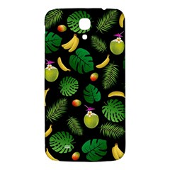 Tropical Pattern Samsung Galaxy Mega I9200 Hardshell Back Case by Valentinaart