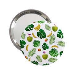 Tropical Pattern 2 25  Handbag Mirrors by Valentinaart
