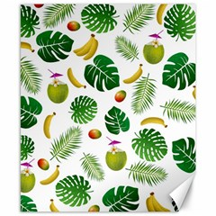 Tropical Pattern Canvas 8  X 10  by Valentinaart