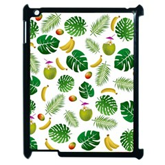 Tropical Pattern Apple Ipad 2 Case (black) by Valentinaart