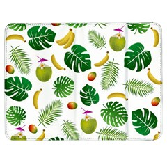 Tropical Pattern Samsung Galaxy Tab 7  P1000 Flip Case by Valentinaart