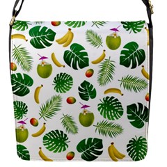 Tropical Pattern Flap Messenger Bag (s) by Valentinaart
