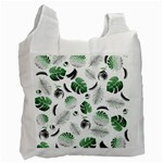 Tropical pattern Recycle Bag (One Side) Front