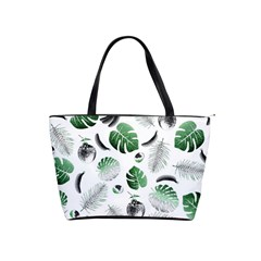 Tropical Pattern Shoulder Handbags by Valentinaart