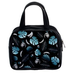 Tropical Pattern Classic Handbags (2 Sides) by Valentinaart