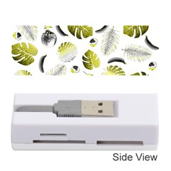 Tropical Pattern Memory Card Reader (stick)  by Valentinaart