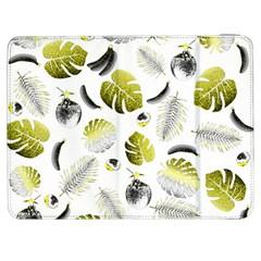 Tropical Pattern Samsung Galaxy Tab 7  P1000 Flip Case by Valentinaart