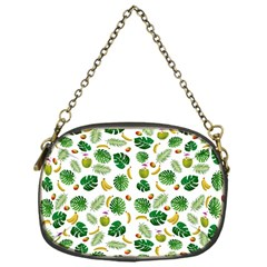 Tropical pattern Chain Purses (One Side)  by Valentinaart