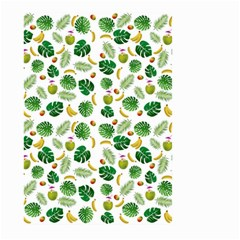 Tropical Pattern Large Garden Flag (two Sides) by Valentinaart