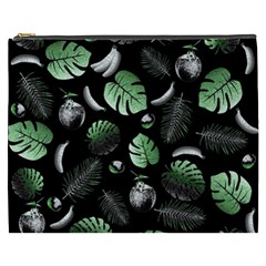 Tropical Pattern Cosmetic Bag (xxxl)  by Valentinaart
