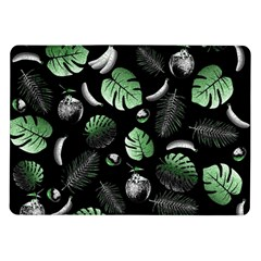 Tropical Pattern Samsung Galaxy Tab 10 1  P7500 Flip Case by Valentinaart