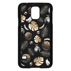 Tropical Pattern Samsung Galaxy S5 Case (black) by Valentinaart