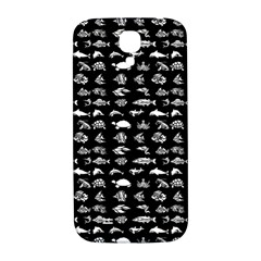 Fish Pattern Samsung Galaxy S4 I9500/i9505  Hardshell Back Case by ValentinaDesign