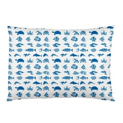 Fish Pattern Pillow Case (two Sides) by ValentinaDesign