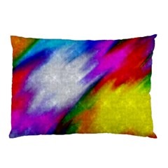 Rainbow Colors              Pillow Case by LalyLauraFLM