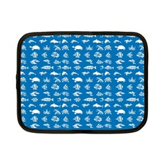 Fish Pattern Netbook Case (small)  by ValentinaDesign