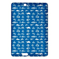 Fish Pattern Amazon Kindle Fire Hd (2013) Hardshell Case by ValentinaDesign