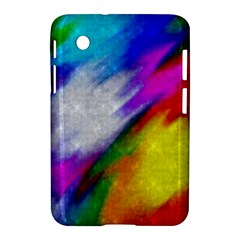 Rainbow Colors        Apple Iphone 5c Hardshell Case by LalyLauraFLM