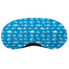 Fish Pattern Sleeping Masks by ValentinaDesign