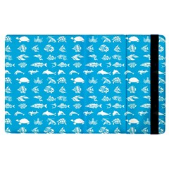 Fish Pattern Apple Ipad Pro 12 9   Flip Case by ValentinaDesign