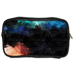 Paint Strokes And Splashes              Toiletries Bag (one Side) by LalyLauraFLM