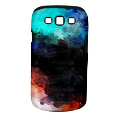 Paint Strokes And Splashes        Samsung Galaxy S Ii I9100 Hardshell Case (pc+silicone) by LalyLauraFLM