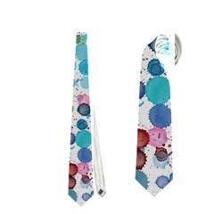 Colorful Splatters               Necktie by LalyLauraFLM