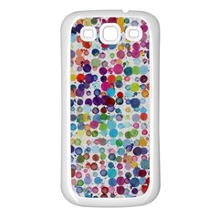 Colorful Splatters         Samsung Galaxy S7710 Xcover 2 Hardshell Case by LalyLauraFLM