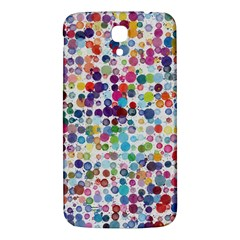 Colorful Splatters         Samsung Galaxy Note 4 Pu Leather Hardshell Back Case by LalyLauraFLM