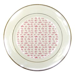 Fish Pattern Porcelain Plates by ValentinaDesign