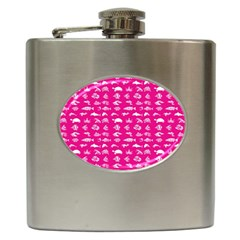 Fish Pattern Hip Flask (6 Oz) by ValentinaDesign