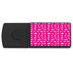 Fish Pattern Usb Flash Drive Rectangular (4 Gb)