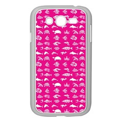 Fish Pattern Samsung Galaxy Grand Duos I9082 Case (white) by ValentinaDesign