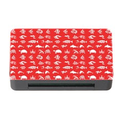 Fish Pattern Memory Card Reader With Cf by ValentinaDesign