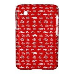 Fish Pattern Samsung Galaxy Tab 2 (7 ) P3100 Hardshell Case