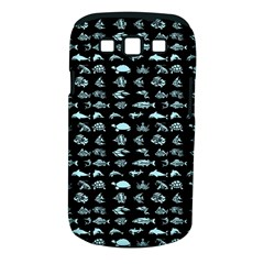 Fish Pattern Samsung Galaxy S Iii Classic Hardshell Case (pc+silicone) by ValentinaDesign