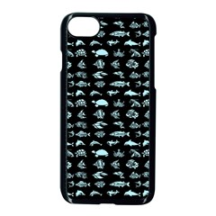 Fish Pattern Apple Iphone 7 Seamless Case (black) by ValentinaDesign