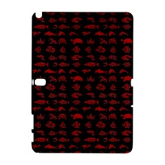 Fish Pattern Galaxy Note 1 by ValentinaDesign