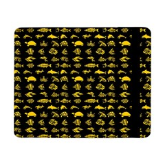 Fish Pattern Samsung Galaxy Tab Pro 8 4  Flip Case by ValentinaDesign