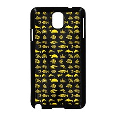 Fish Pattern Samsung Galaxy Note 3 Neo Hardshell Case (black) by ValentinaDesign