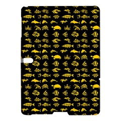 Fish Pattern Samsung Galaxy Tab S (10 5 ) Hardshell Case  by ValentinaDesign